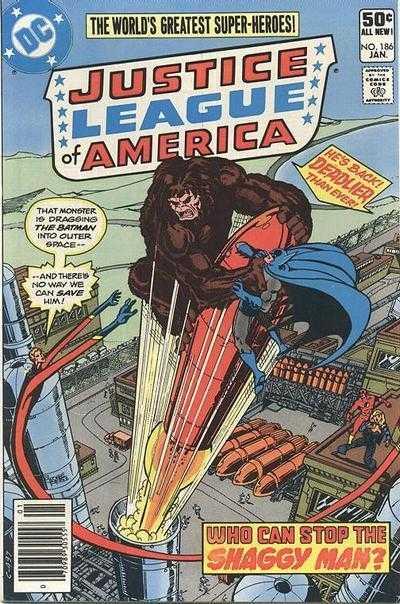 Justice League of America #186