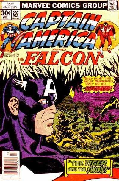 Captain America #207