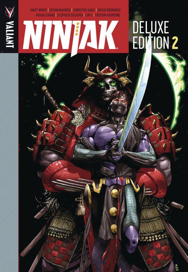 Ninjak Deluxe Edition Book 2 HC