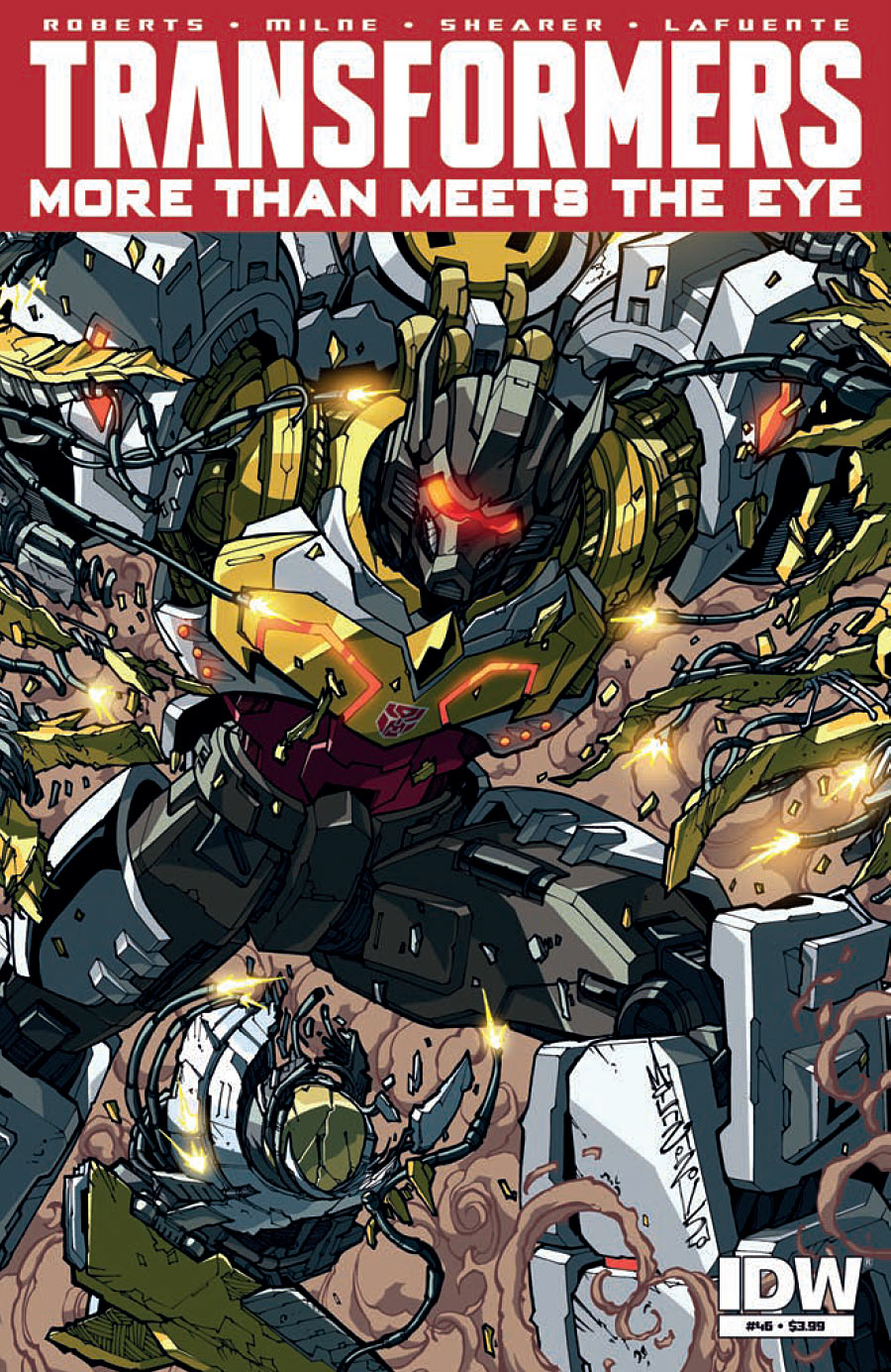 The Transformers: More than Meets the Eye #46
