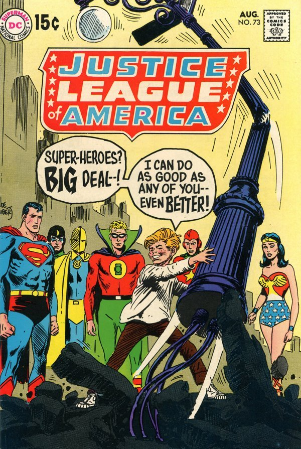 Justice League of America #73