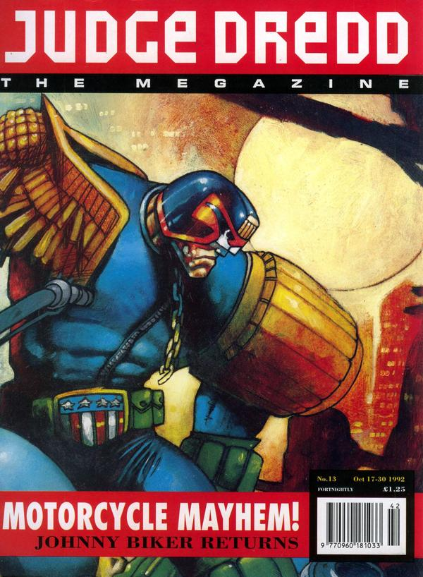Judge Dredd: The Megazine #13