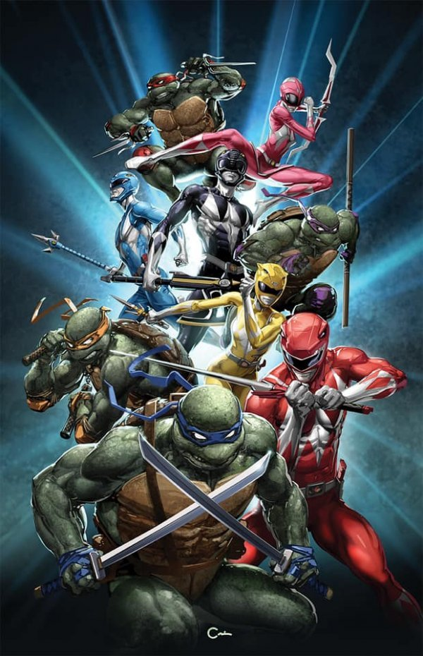 Mighty Morphin Power Rangers / Teenage Mutant Ninja Turtles #1