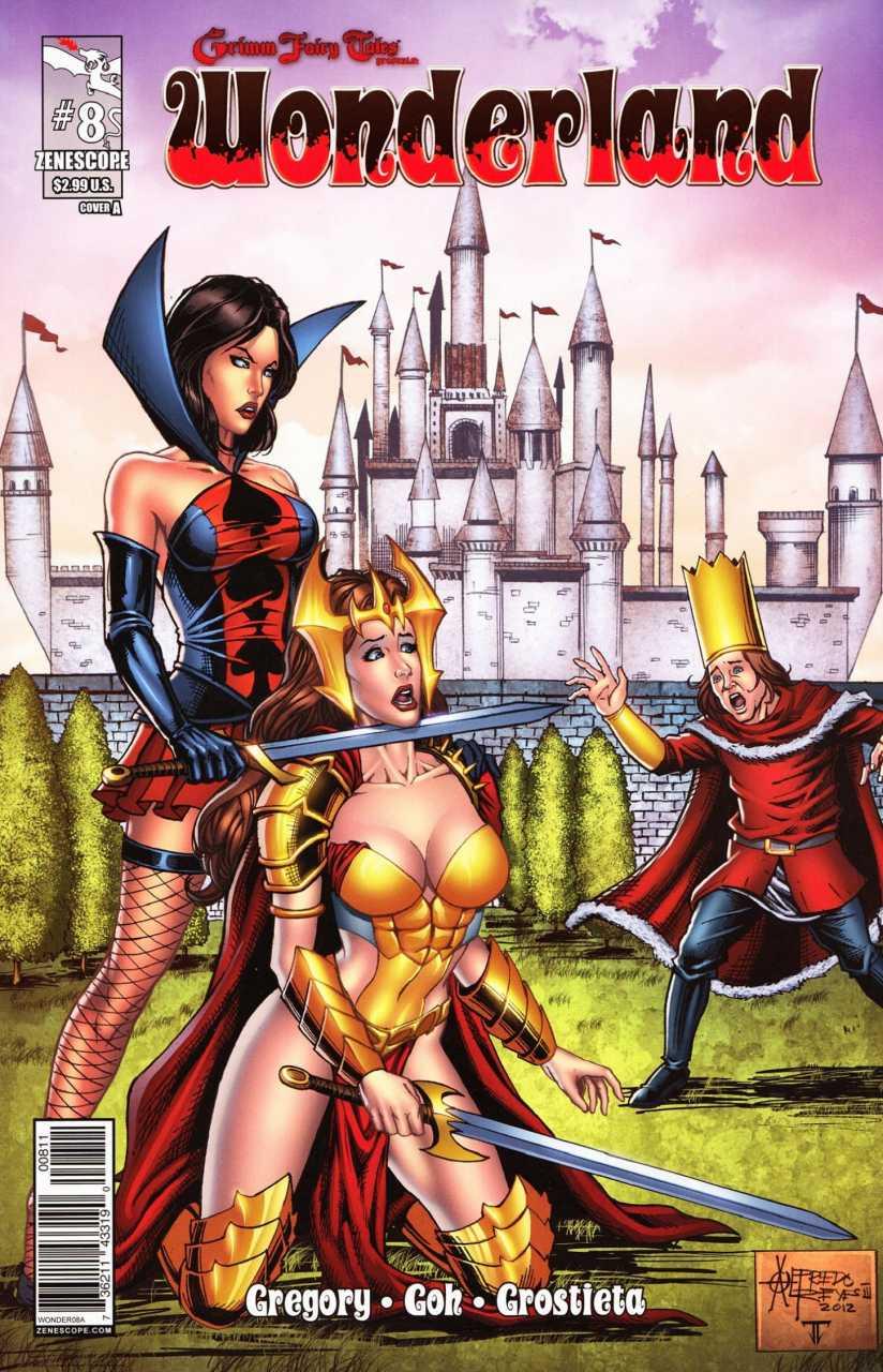 Grimm Fairy Tales Presents Wonderland #8 Reviews