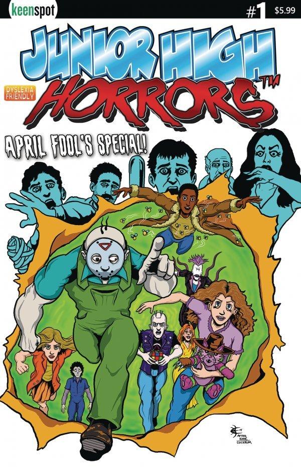 Junior High Horrors: April Fools Special #1 review