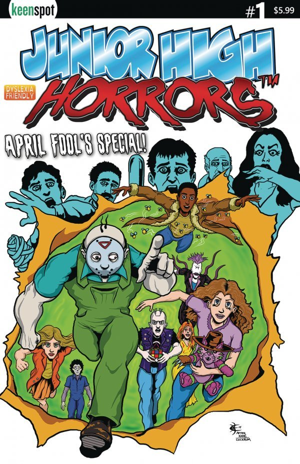 Junior High Horrors: April Fools Special #1