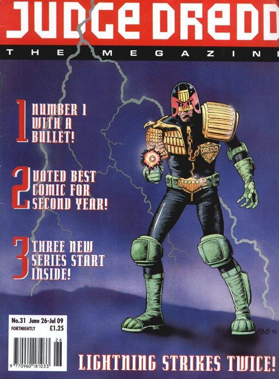Judge Dredd: The Megazine #31