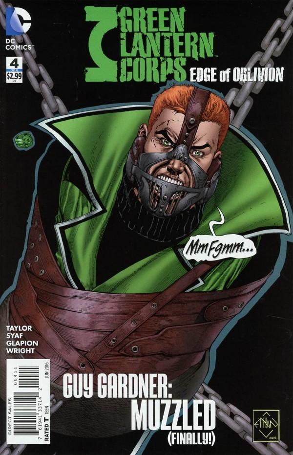 Green Lantern Corps: Edge of Oblivion #4
