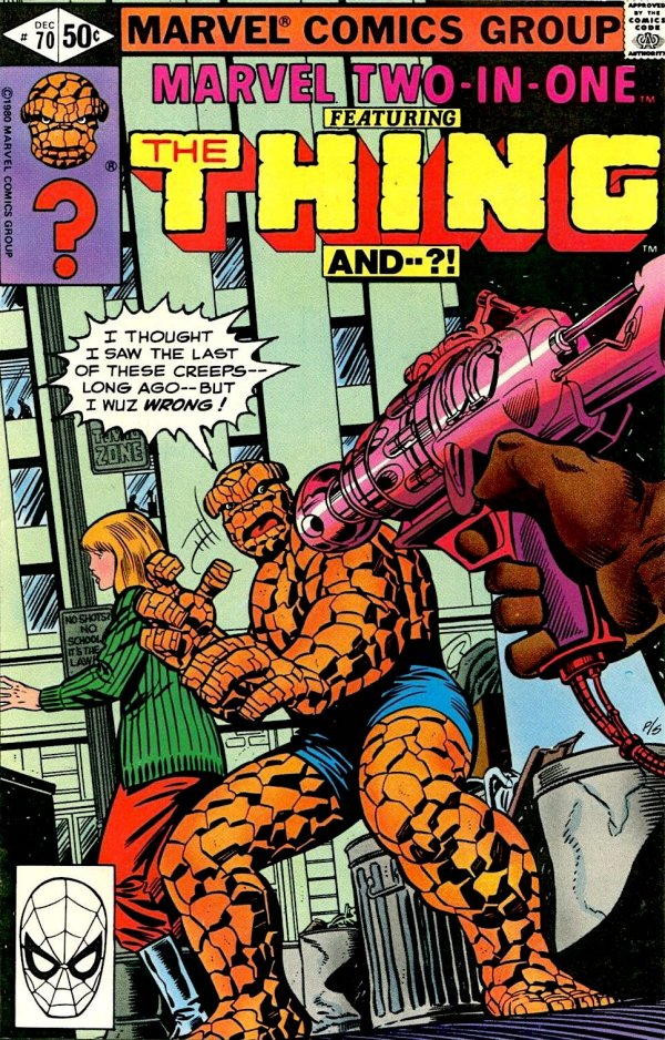Marvel Two-in-One #70