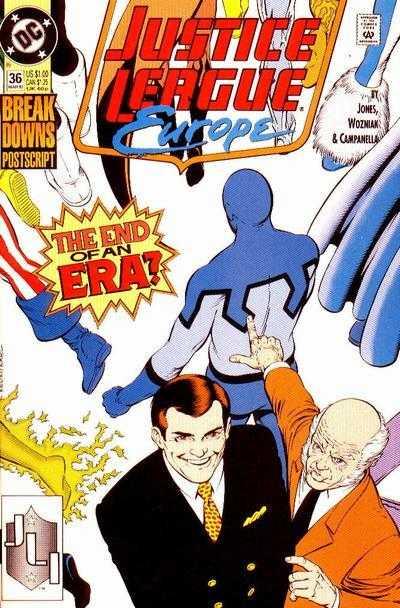 Justice League Europe #36