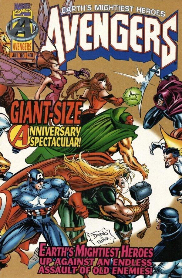 The Avengers #400