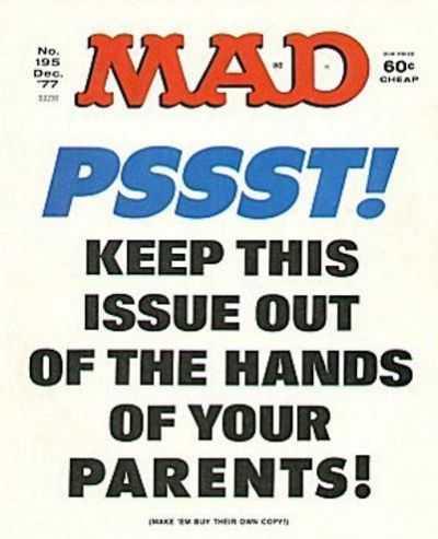 Mad Magazine #195