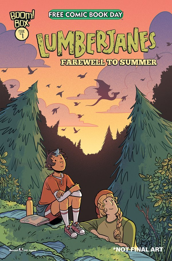 Free Comic Book Day 2020: Lumberjanes - Farewell to Summer #1