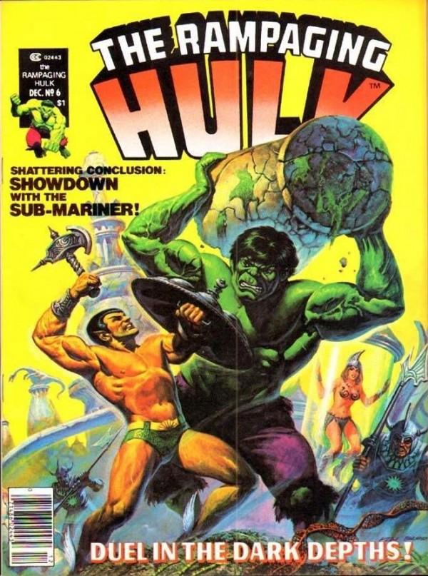 The Rampaging Hulk #6