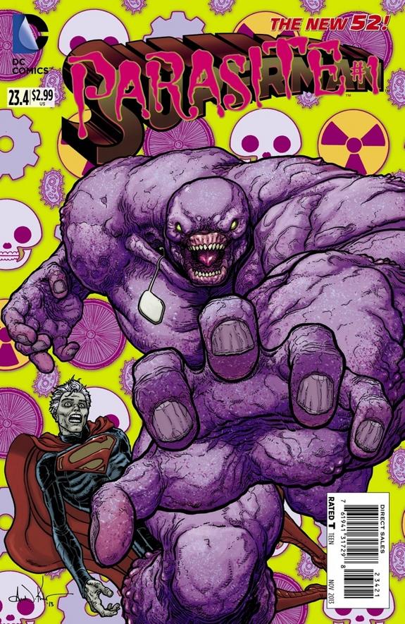 Superman #23.4 Parasite