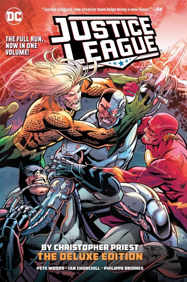 Justice League by Christopher Priest Deluxe Edition HC