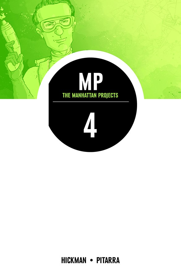 The Manhattan Projects Vol. 4: The Four Disciplines TP