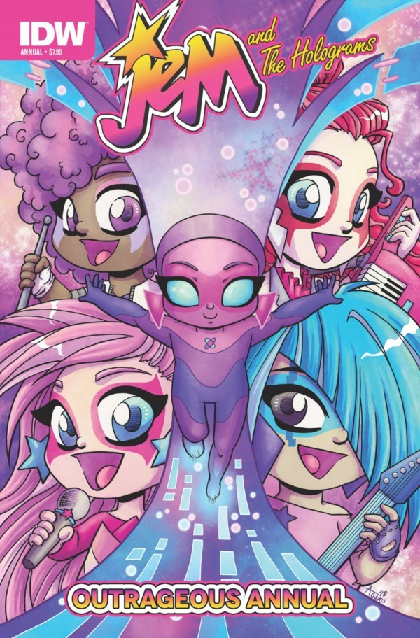 Jem and The Holograms Outrageous Annual 2015