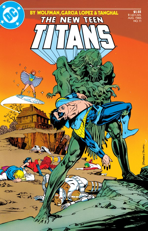The New Teen Titans #11