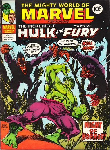 The Mighty World of Marvel #287