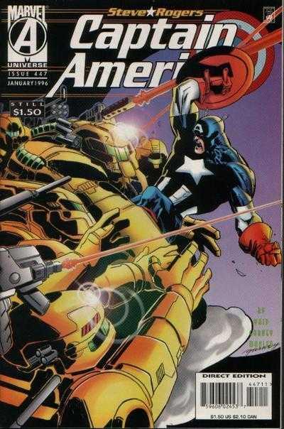 Captain America #447