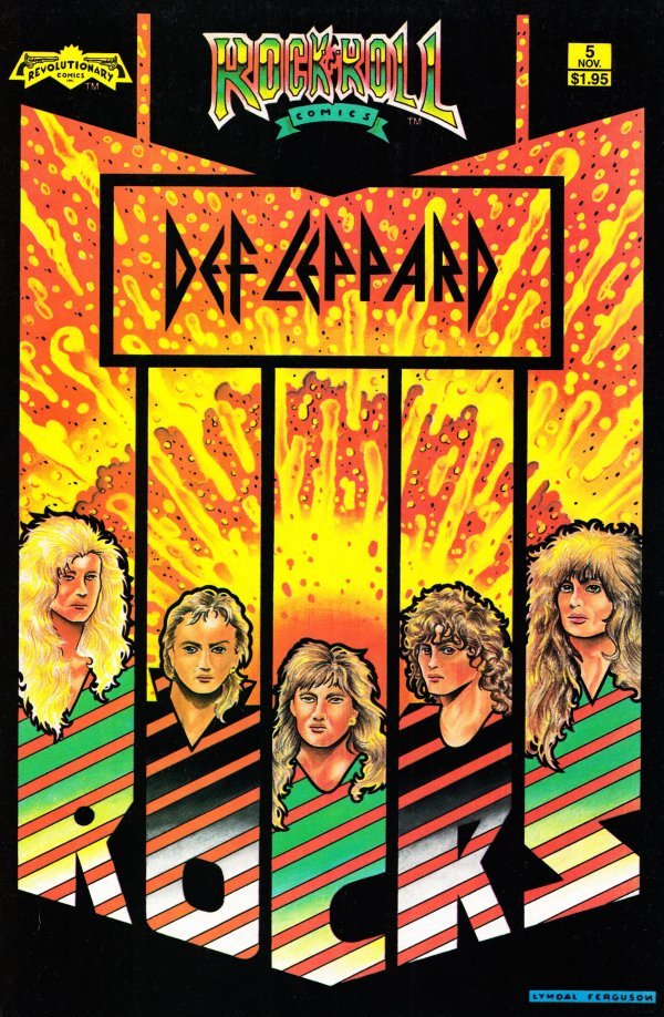 Rock N' Roll Comics #5