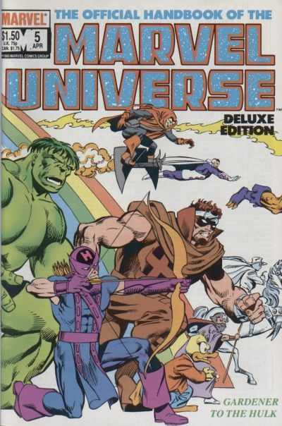 The Official Handbook of the Marvel Universe #5