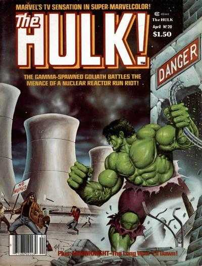 The Rampaging Hulk #20