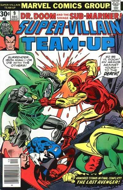 Super-Villain Team-Up #9