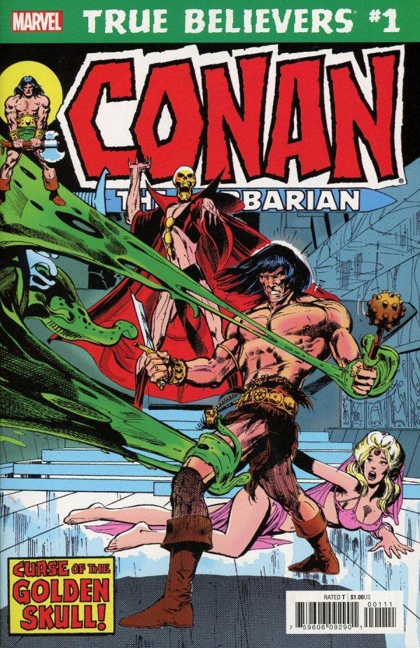 True Believers: Conan - Curse of the Golden Skull #1