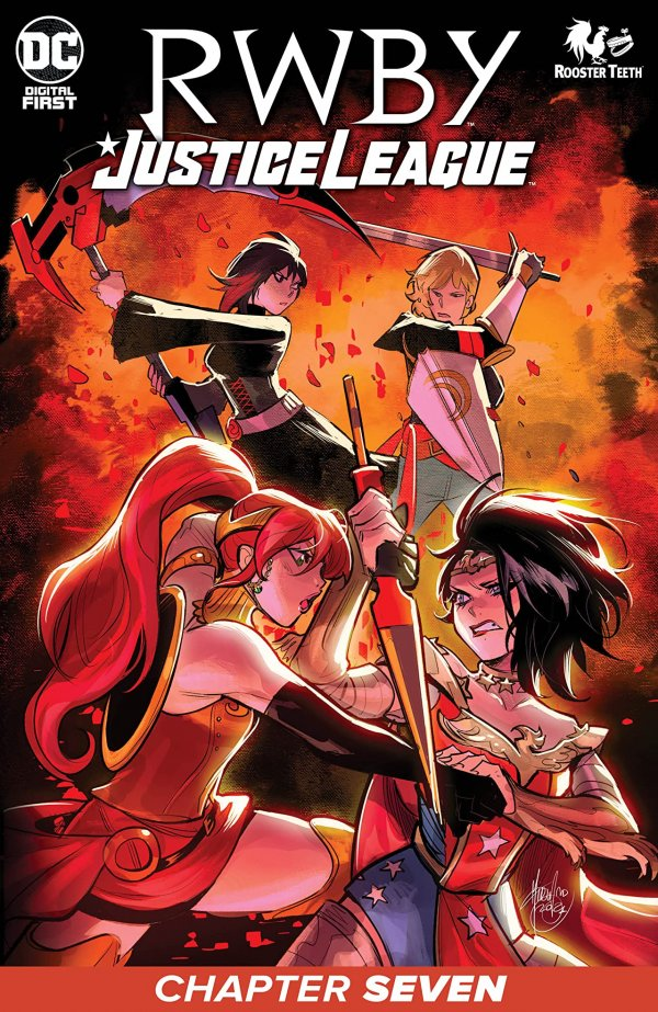 RWBY / Justice League Chapter #7