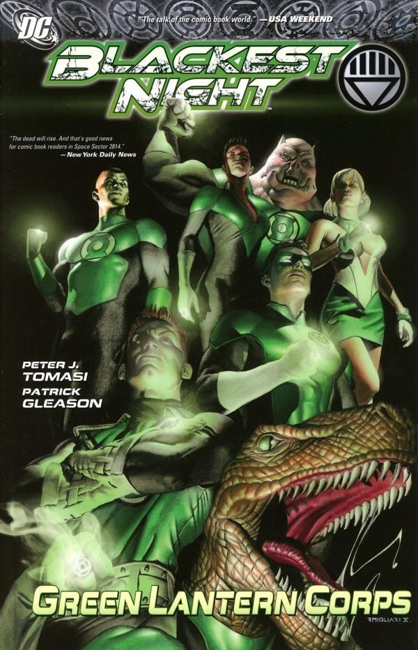 Blackest Night: Green Lantern Corps TP