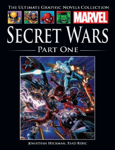 The Ultimate Graphic Novels Collection Secret Wars Part 1
