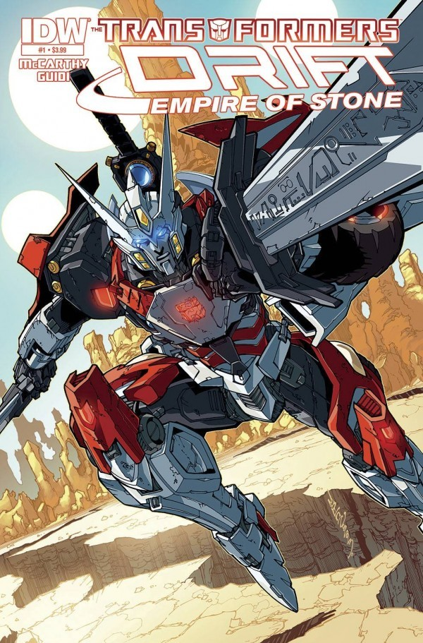 The Transformers: Drift - Empire of Stone #1