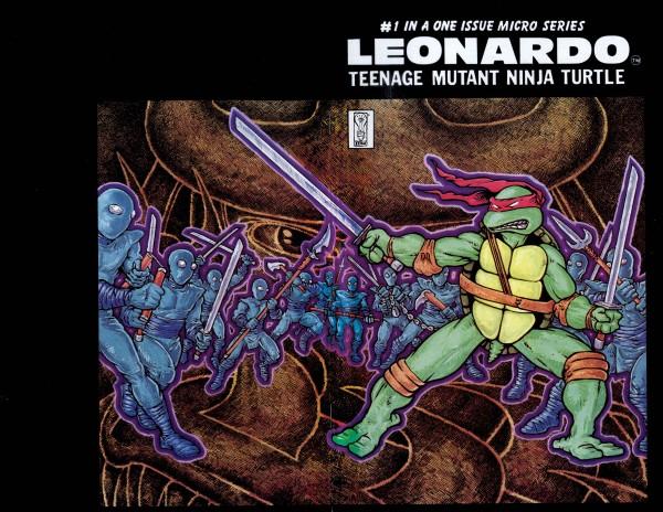 Teenage Mutant Ninja Turtles: Micro-Series #4