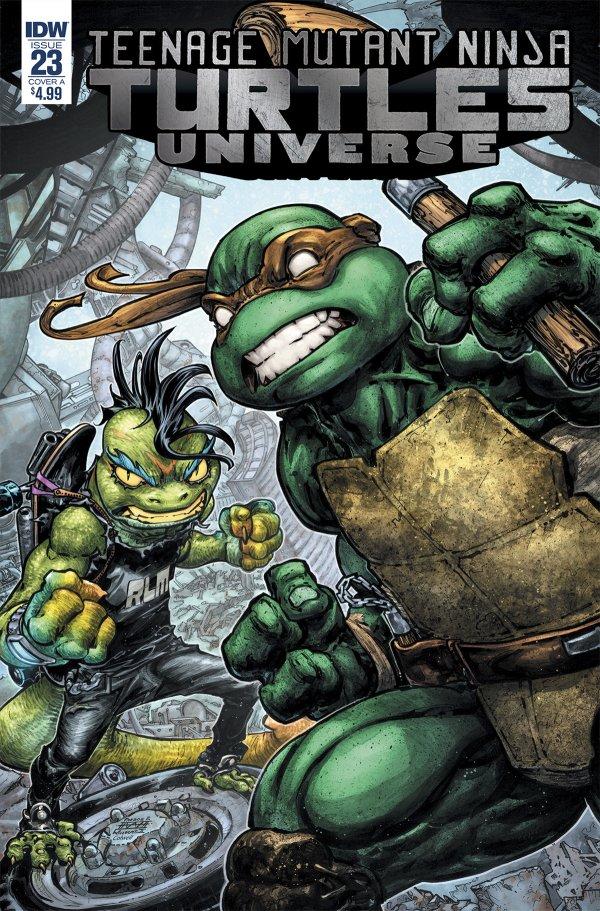 Teenage Mutant Ninja Turtles: Universe #23