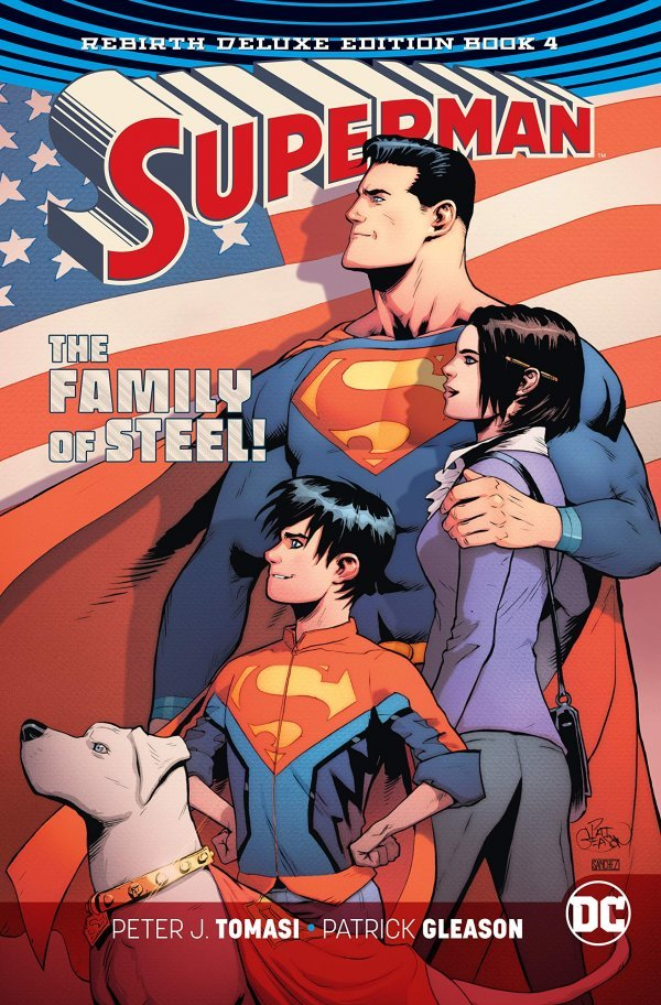 Superman The Rebirth Deluxe Edition Book Four HC