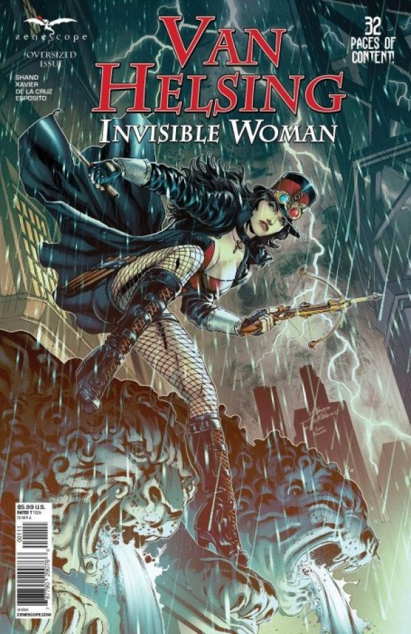 Van Helsing Vs. Invisible Woman Annual #1