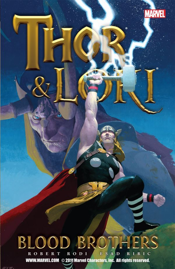 Thor and Loki: Blood Brothers HC