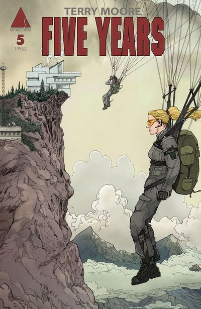 Five Years #5 review