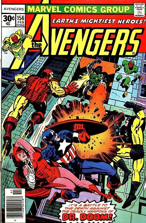 The Avengers #156
