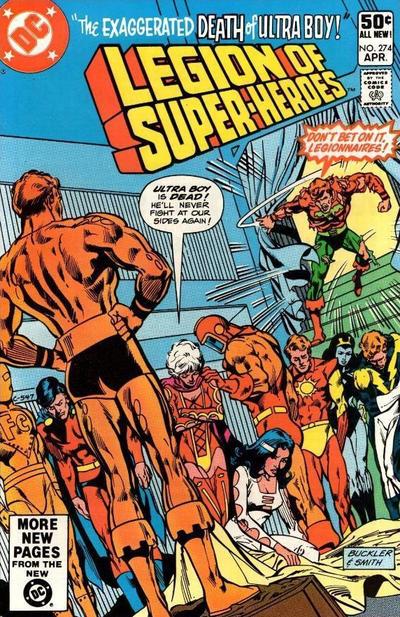 Legion of Super-Heroes #274