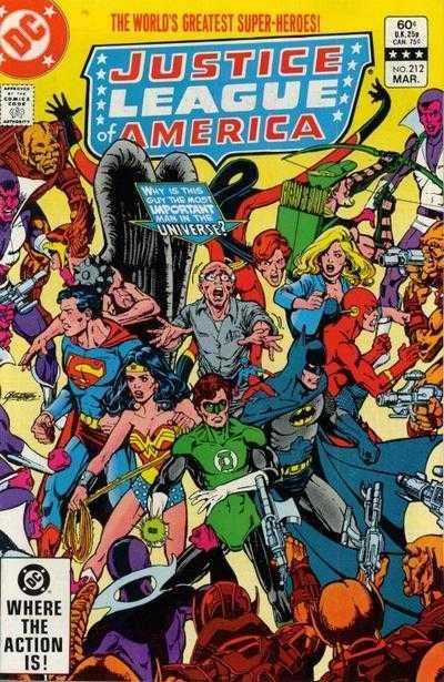 Justice League of America #212