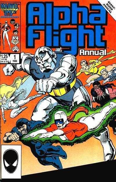 Alpha Flight Annual #1
