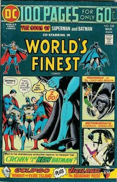 World's Finest Comics #228