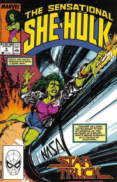 The Sensational She-Hulk #6
