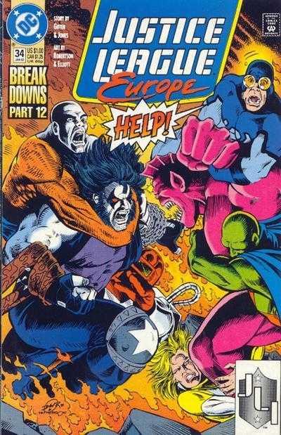 Justice League Europe #34