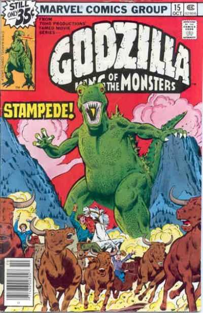 Godzilla: King of the Monsters #15