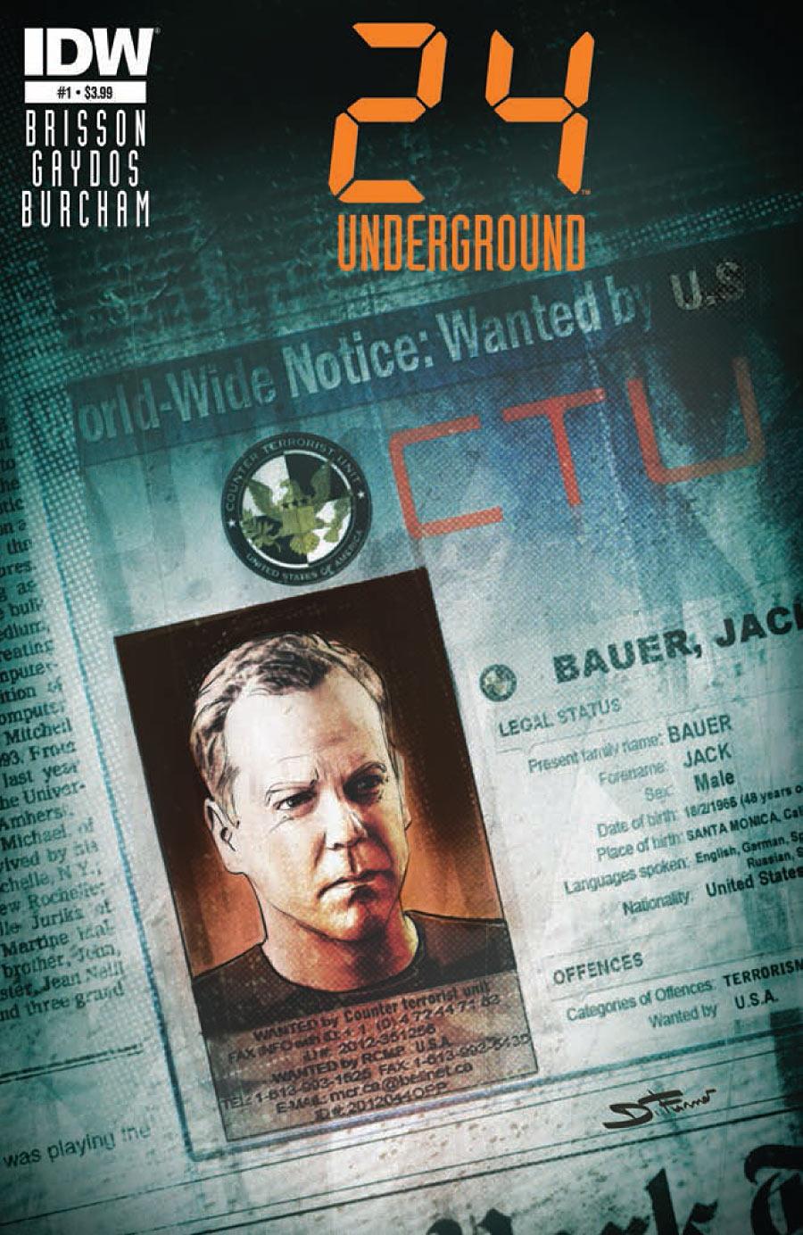 24: Underground #1