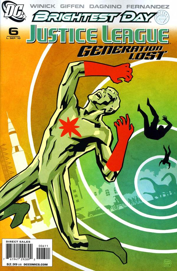 Justice League: Generation Lost #6
